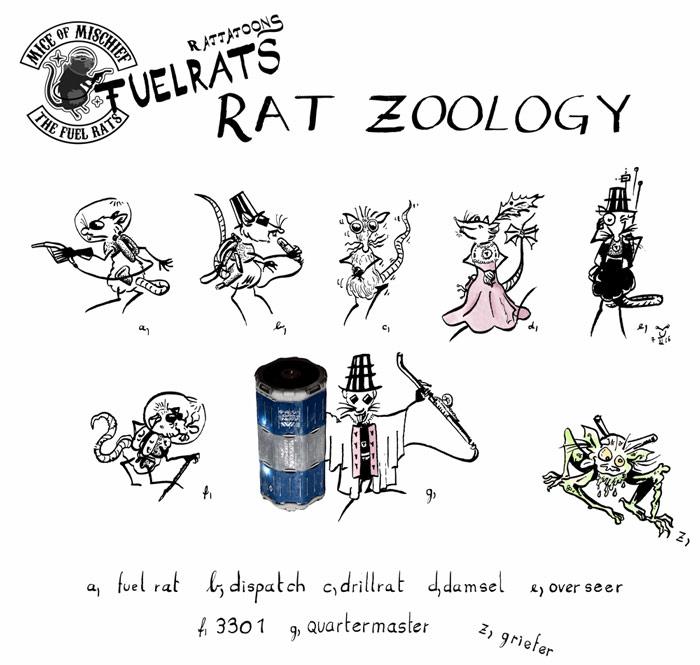 Fuel Rats Zoology
